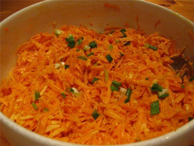 Салаты рецепты с морковью
