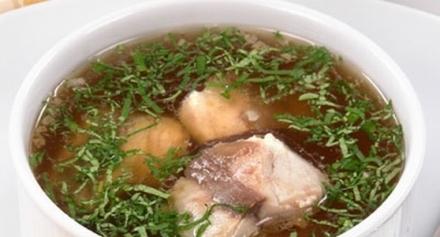 Рыбный суп с сайрой рецепт
