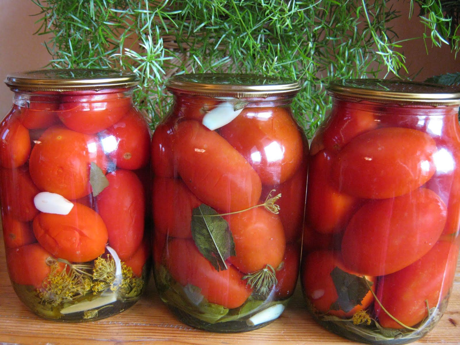 Закатка помидор на зиму рецепты