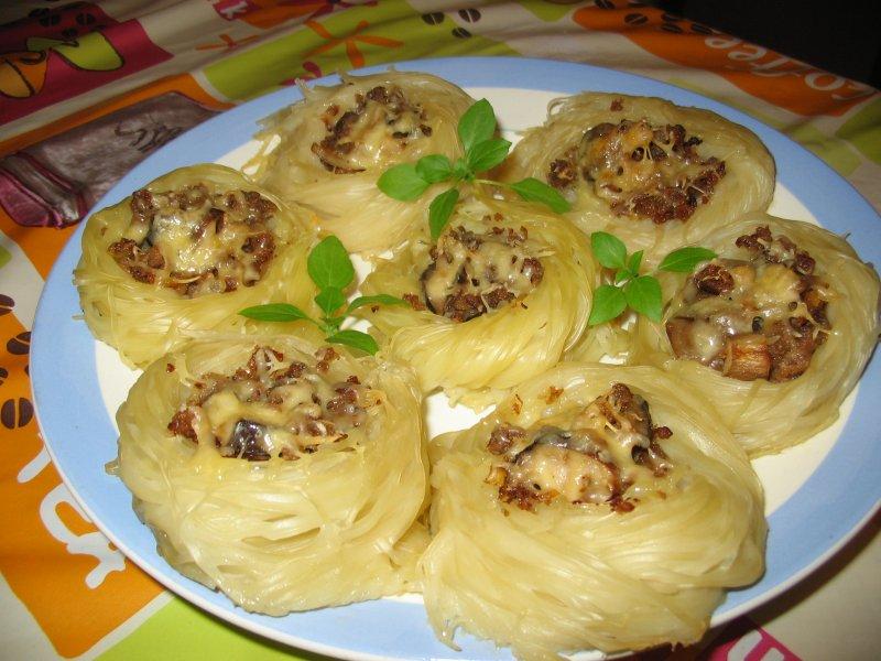 Салат из мяса индейки