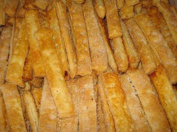печенье из слоёного теста рецепты с фото