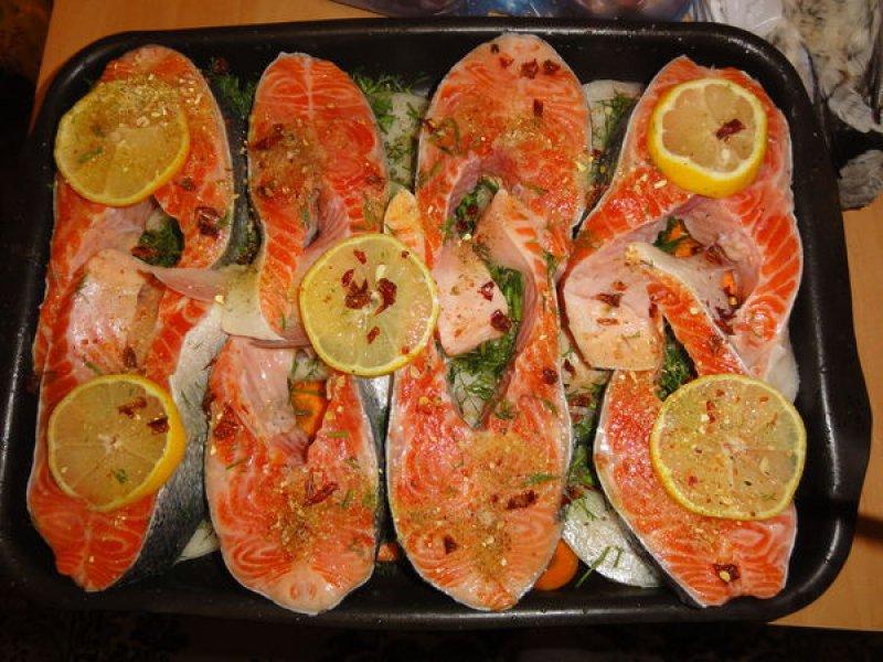 Семга в духовке просто и вкусно рецепт