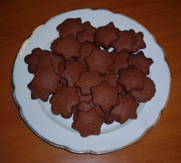 печенье шоколадное рецепт с фото с какао